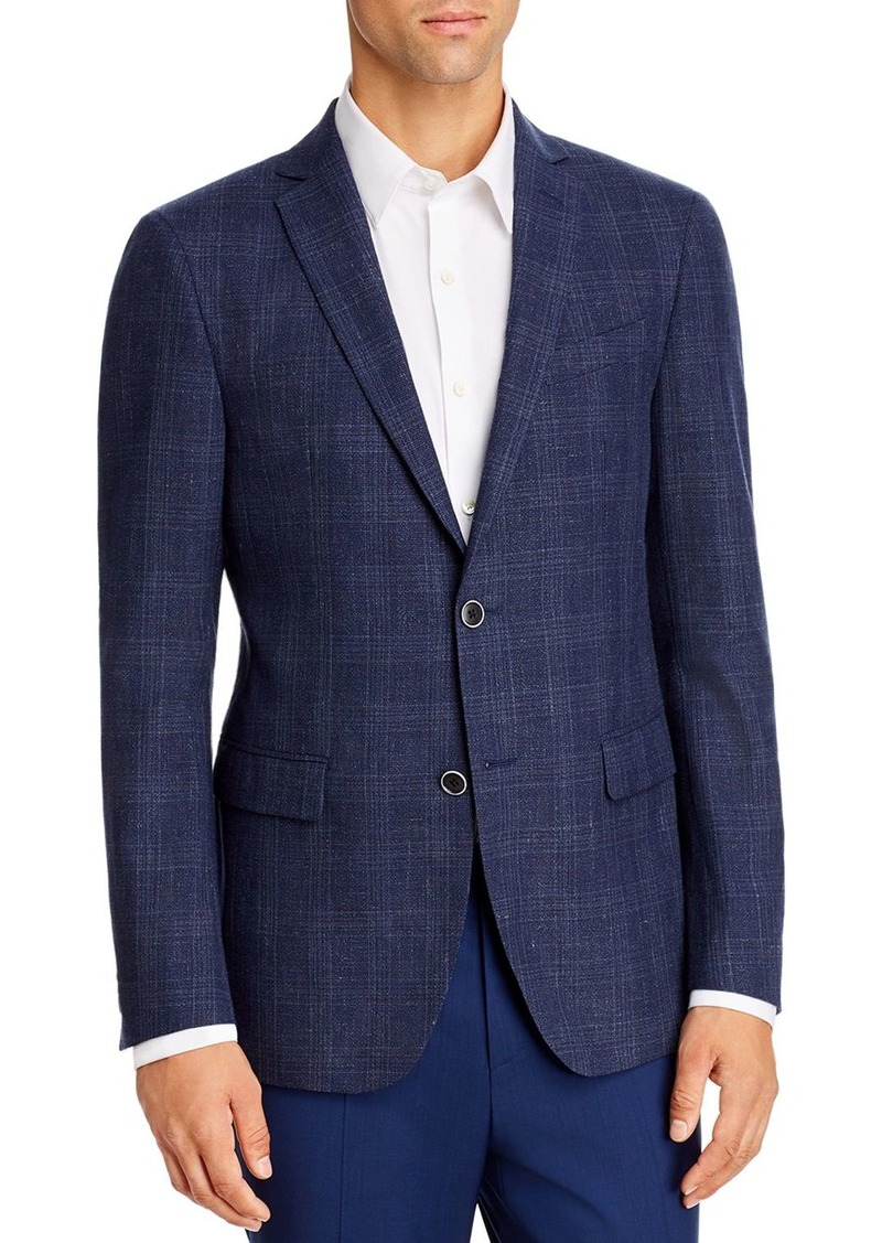 John Varvatos Star USA Tonal Plaid Slim Fit Sport Coat