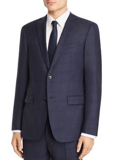 John Varvatos Star USA Tonal Shadow-Plaid Wool Slim Fit Suit Jacket