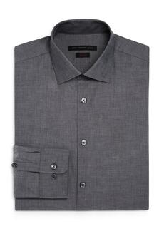 John Varvatos Star USA Tonal Solid Slim Fit Stretch Dress Shirt