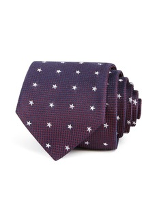 John Varvatos Star USA Tossed Stars Silk Classic Tie