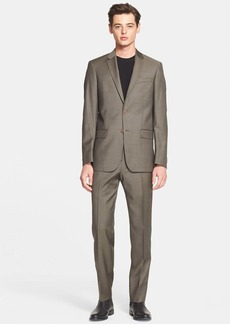 John Varvatos Star USA Trim Fit Wool Suit