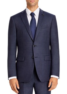 John Varvatos Star USA Twill Solid Slim Fit Suit Jacket
