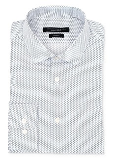 John Varvatos Star USA U Print Wrinkle-Resistant Slim Fit Dress Shirt