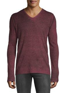 John Varvatos Star U.S.A. V-Neck Pullover Sweater