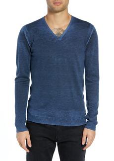 John Varvatos Star USA V-Neck Sweater