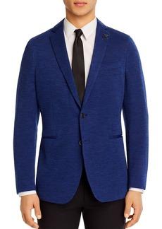 John Varvatos Star USA Varick Jersey Tonal Solid Slim Fit Sport Coat