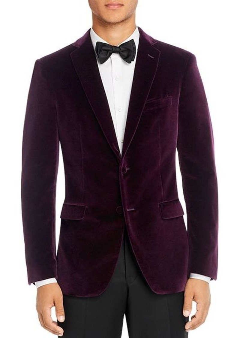 John Varvatos Star USA Velvet Slim Fit Dinner Jacket