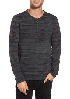 John Varvatos Star USA Vertical Pickstitch Henley