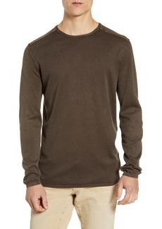 John Varvatos Star USA Walter Cotton Crewneck Sweater