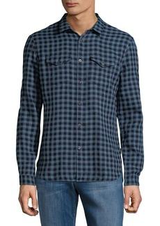 John Varvatos Star U.S.A. Western Cotton Casual Button-Down Shirt