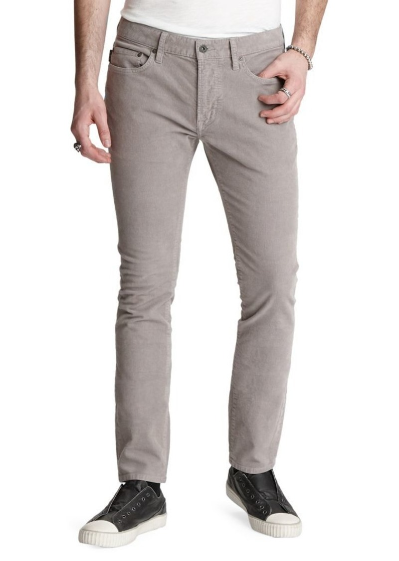 John Varvatos Star U.S.A. Wight-Fit Corduroy Pants