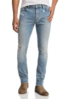 John Varvatos Star USA Wight Skinny Fit Jeans in Atlantic Blue - 100% Exclusive