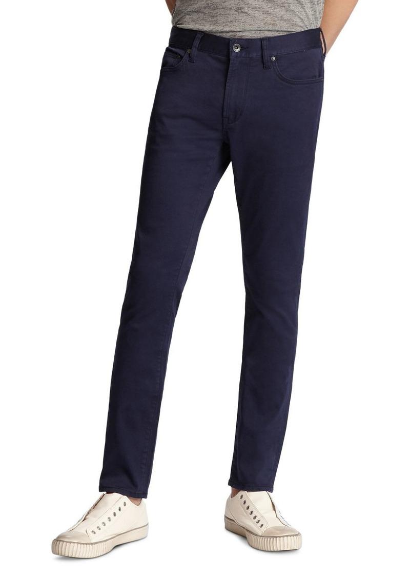 John Varvatos Star USA Wight Skinny Fit Jeans in Ink Blue