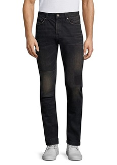 John Varvatos Star U.S.A. Wight Slim-Fit Patch Jeans