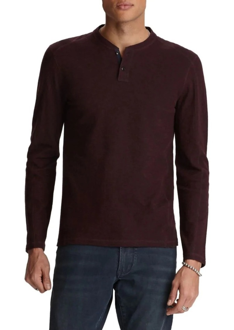 John Varvatos Star U.S.A. Wilmington Double-Knit Henley