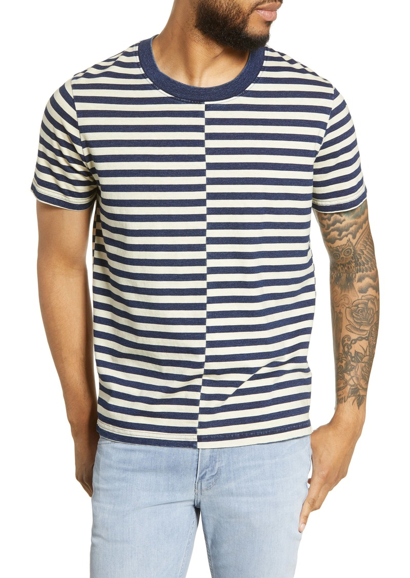 John Varvatos Star USA Woodstock Stripe T-Shirt