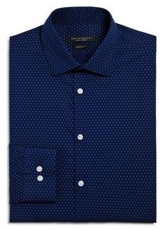 John Varvatos Star USA X-Print Regular Fit Dress Shirt
