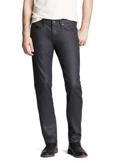 John Varvatos USA Jeans Bowery Slim Straight Fit Jeans in Graphite