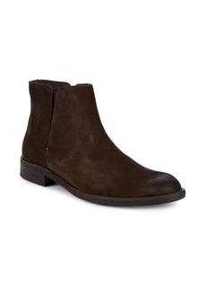 John Varvatos Wavery Leather Boots
