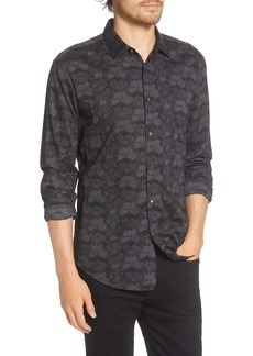 John Varvatos x Led Zeppelin Slim Fit Floral Button-Up Shirt