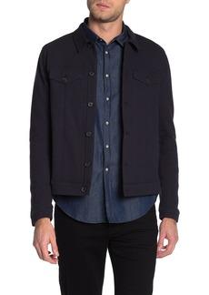 John Varvatos Knit Regular Fit Trucker Jacket