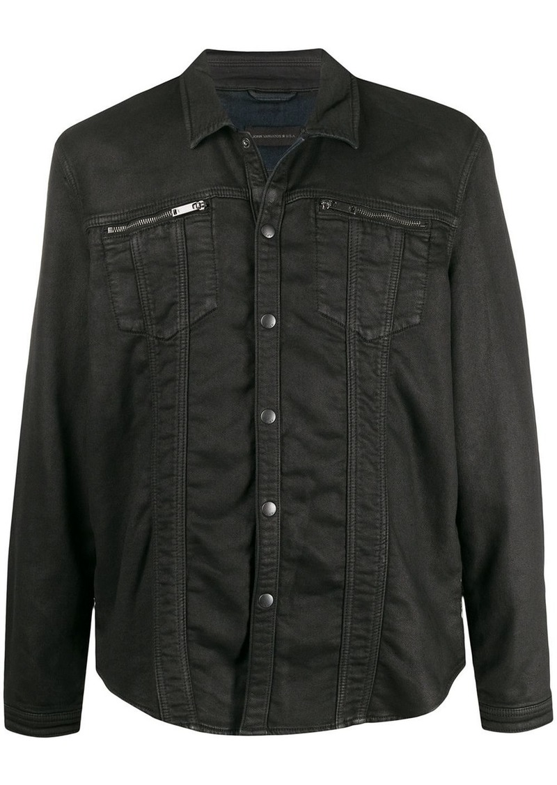 John Varvatos lightweight denim jacket