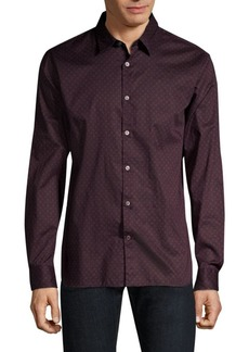 John Varvatos Long Sleeve Button-Down Shirt