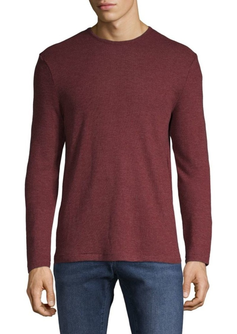 John Varvatos Long-Sleeve Cotton-Blend Tee
