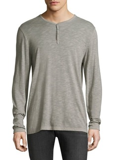 John Varvatos Loose-Fit Henley