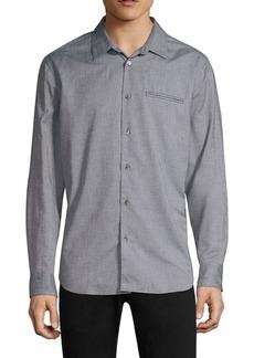 John Varvatos Marled Button-Down Shirt