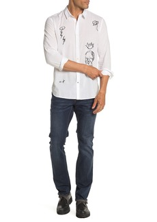 John Varvatos Matstick Skinny Jeans