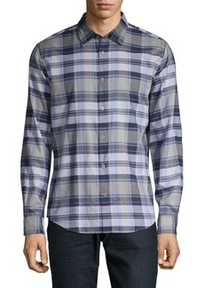 John Varvatos Mayfield Plaid Shirt