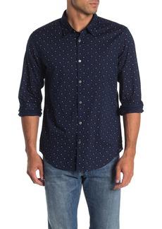 John Varvatos Mayfield Print Slim Fit Shirt