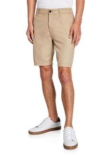 John Varvatos Men's 3-Needle Shorts