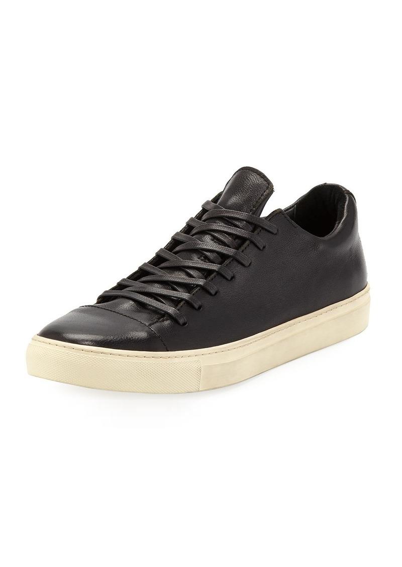John Varvatos Men's 315 Reed Leather Low-Top Sneakers