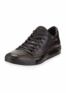 John Varvatos Men's 315 Reed Leather Low-Top Sneakers