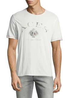 John Varvatos Men's Aces Graphic T-Shirt