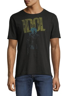 John Varvatos Men's Billy Idol Band T-Shirt