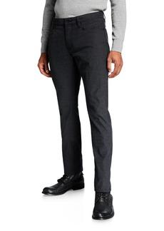 John Varvatos Men's Bowery Slim-Straight Pinstripe Pants