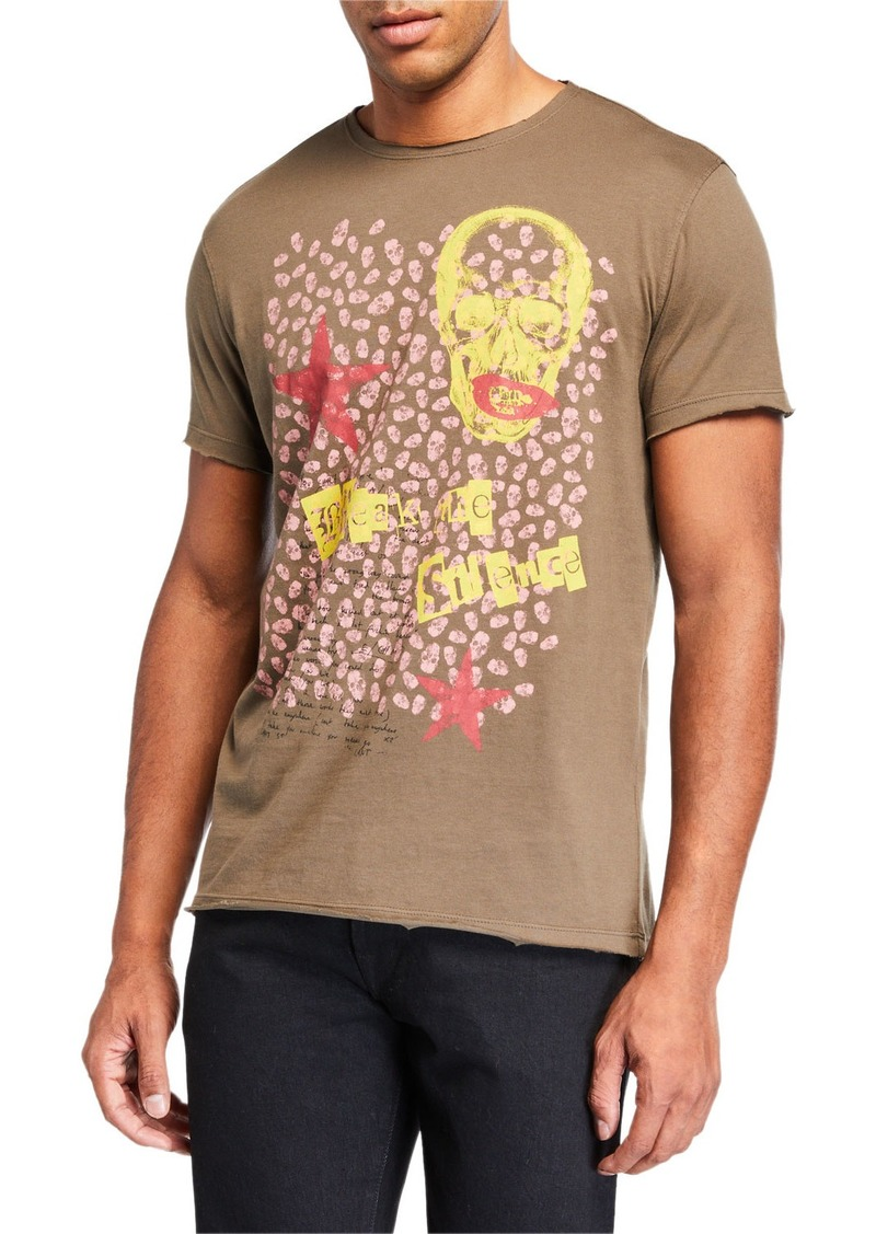 John Varvatos Men's Break the Silence Graphic T-Shirt