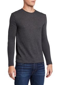 John Varvatos Men's Broken Rib Long-Sleeve Shirt