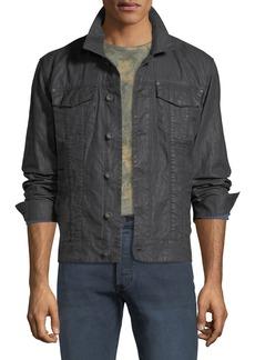 John Varvatos Men's Button-Front Linen Jacket