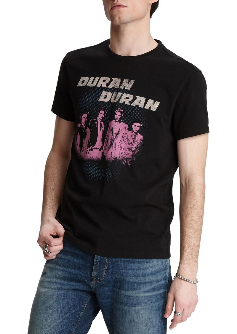 John Varvatos Men's Duran Duran Band T-Shirt