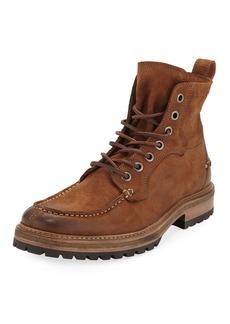 John Varvatos Men's Ellis Suede Work Boot
