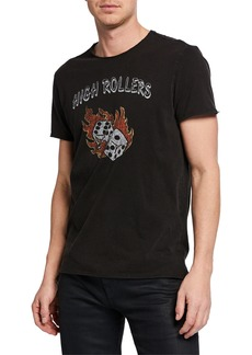 John Varvatos Men's High Rollers Graphic T-Shirt