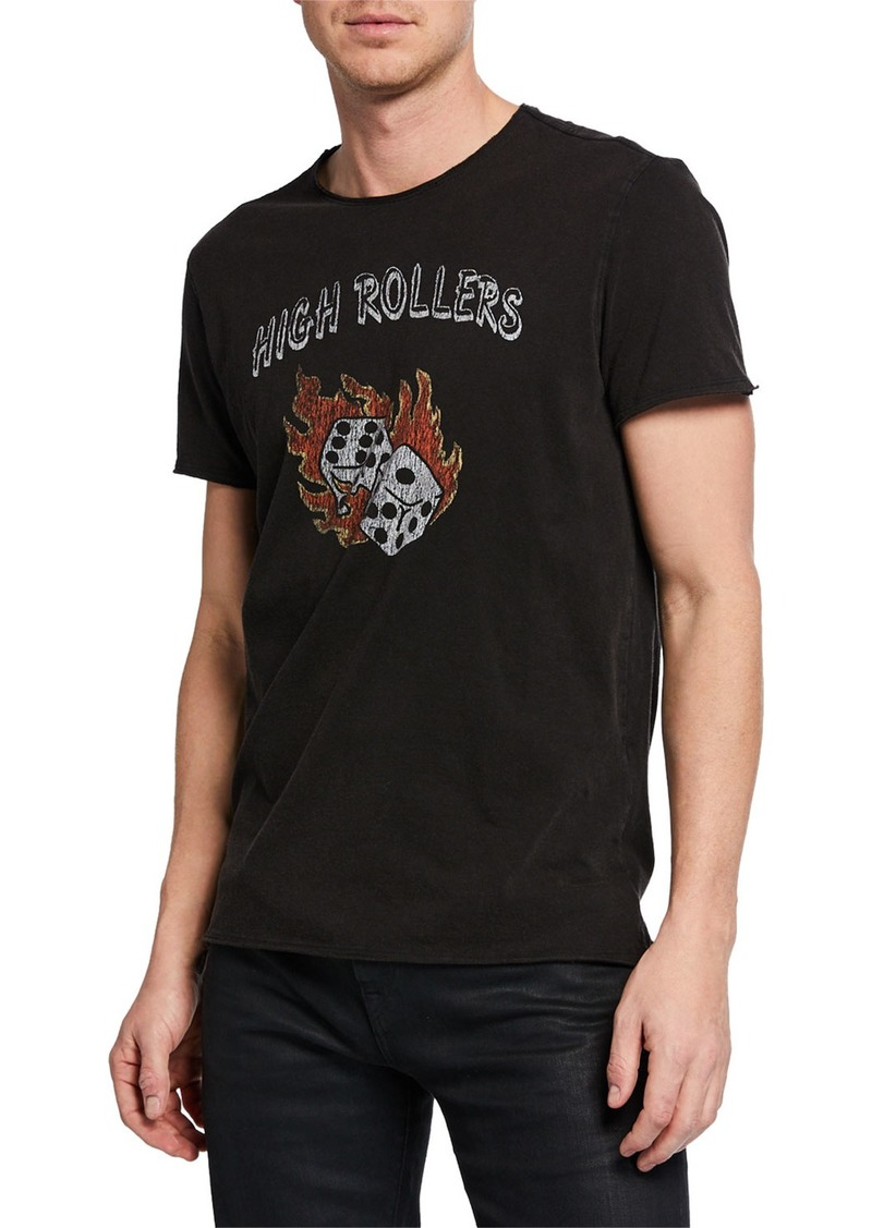 John Varvatos Men's High Rollers Graphic T-Shirt