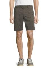 John Varvatos Men's Inkdrop-Print Shorts