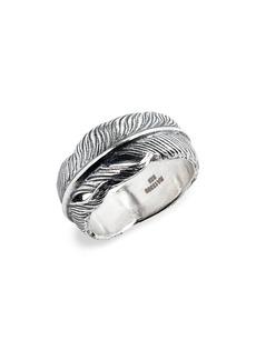 Men's John Varvatos Feather Ring