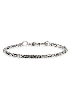 Men's John Varvatos Silver Chain Bracelet