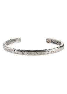 Men's John Varvatos Silver Cuff Bracelet